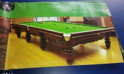 billiards and pool table is good condition and all