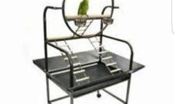 Bird play gym for traind birds used abt 2 months old