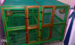 perfect cage for small and medium size birds for more