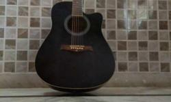 krafter acoustic guitar with good quality yamaha bag
