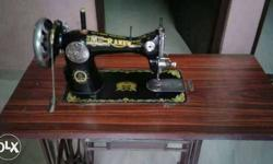 Black And Gold Ranew Sewing Machine