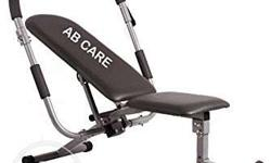 Black And Gray Ab Care Inversion Table