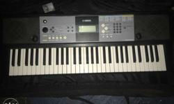 Black And Gray Electronic Keyboard