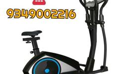 Black And Gray Focus Fitness Elliptical Trainer