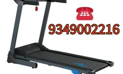 Black And Gray Focus Fitness Treadmill
