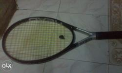 Black And Gray Head Tennis Racket