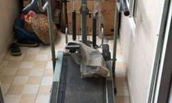 Black And Gray Manual Treadmill