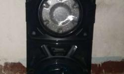 Black And Gray PA Speaker