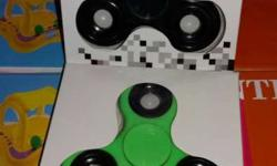 Black And Green Hand Spinner In Box 25 pics are