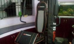 Black And Grey Exercise Equipment