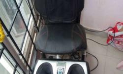 Black And Grey Massage Chair