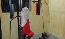 Black And Red Exercise Gym Equipment