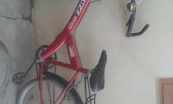 Black And Red Hard Tail Mountain Bike