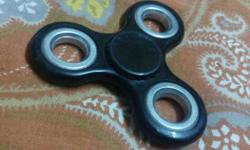 Black And Silver Hand Spinner