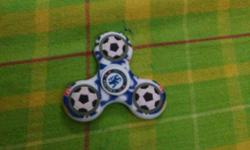 Black And White Baseball Print Hand Spinner