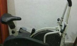 Black And White Elliptical Trainer