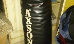 Black Axson Leather Heavy Bag