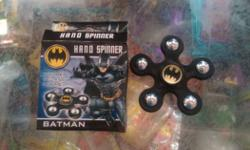 Black Batman Hand Spinner With Box
