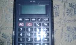 Black Casio Desk Calculator