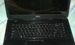 Black Dell Laptop 500gb HHD 2gb Ram 2 year old sab