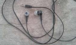 Black Earbud Headset