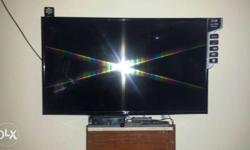 Black Flat Screen lg led tv 43 inch 2 day old brand new