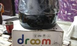 Black Full Face Helmet; Droom Box ISI helmet,new price