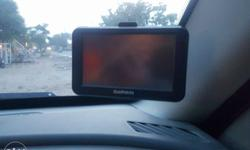 Black Garmin Car GPS