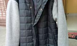 Black & Grey brand new 'Ring of Fire' coat bought from