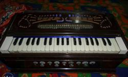 Harmonium is in good and running condition, 3.5 octave,