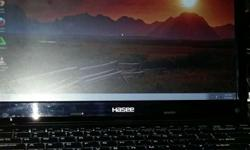 Black Hasee Laptop for sale