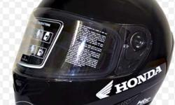 Black Honda Full Face Helmet