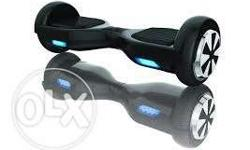 Black And Gray Self-balancing hoverboard new price is
