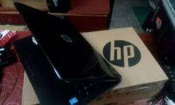 Black Hp Laptop With Box