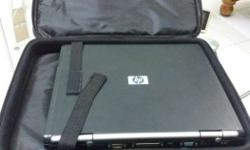 Black Hp Laptop With Laptop Bag