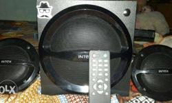 Black Intex Speaker