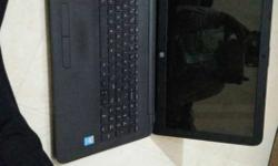 Black HP pentium Laptop with win 8.1 and upgraded