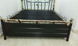 buy metal storage bed from factory outlet made of