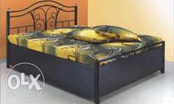 buy metal storage bed with mattress from factory