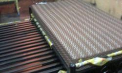 buy b new metal diwan cumbed with mattress from factory