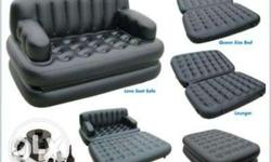 Black Padded Air Bed