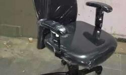 Godrej black rolling chair available almost like new.
