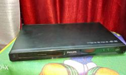 Black Philips Dvd Player