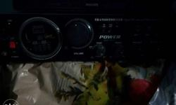Black Philips Stereo Component