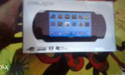 Black PMP video game box 5 days old very urgent for
