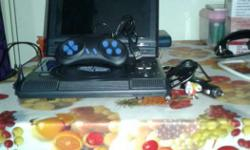Black Portable DVD Player And Black Controller