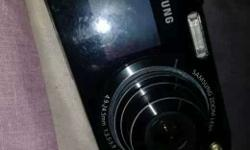 Black Samsung Point And Shoot Camera