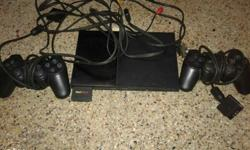 Black Sony Playstation 2