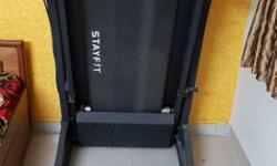 Black Stayfit Treadmill