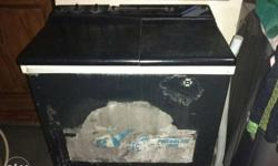 Black Top Load Washer And Dryer